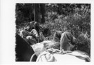 Image - Photograph of William Rea and Linda Barvir during a rest break