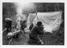 Image - Photograph of a camp on the Grouard Trail