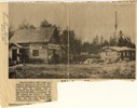 Image - Newspaper photograph and caption about the first bank in Peace River