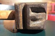 Image - Marteau étampe