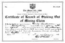 Image - mining certificate