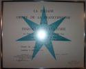 Image - Certificat de: Grade de Chevaliers conféré à Mgr Lionel Daigle