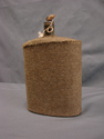 Image - Waterbottle w/cork and khaki cover